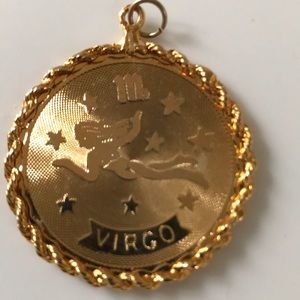 Jewelry - Vintage Virgo Zodiac/Horoscope Pendant
